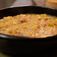 Try this Smoky Bacon, Sweetcorn and Potato Soup recipe by Chef Gordon Ramsay. This recipe is from the show Gordon's Ultimate Home Cooking.