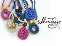 Collares de trapillo para porteo y lactancia. Crochet Necklace, Jewelry, Babywearing, Crochet Collar, Jewellery Making, Jewelery, Jewlery, Jewels, Jewerly
