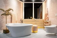 Originally due to take place in May this year, the 4th installment of what has become the country's most inspiring and exclusive showcase of local and international design - @designjoburg 2020 - has been postponed to 1-3 October. Here's a look at our ultra-luxe Art Deco bathroom, designed for @kohlerafrica's 2018 stand, which features some of Copperleaf's signature design ingredients; bespoke fixtures, collabs with SA's best suppliers, and a high level of attention to detail. We loved this… Art Deco Bathroom, Signature Design, 3 October, Bathtub, High Level, Studio, Bespoke, Bathrooms, Detail