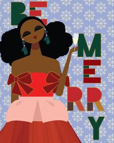 We are wishing you all a very Merry Christmas 🎄🎁 Gifting someone beauty products from or used our products for your styles ? TAG us we would love to see 🎄🎁Enjoy your day! Art 🖼 by Black Girl Art, Black Women Art, Black Girl Magic, Black Art, Black Girls, African Girl, African American Art, Hair Illustration, Natural Hair Art