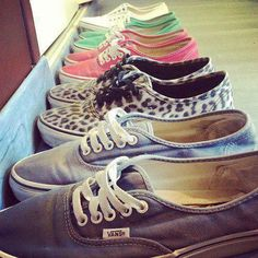Vans. Like oh my god get in my closet.