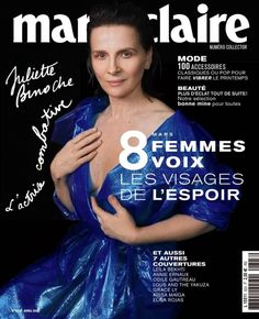 Magazine Covers (@_MagazineCovers) / Twitter Annie Ernaux, Marie Claire France, Juliette Binoche, French People, Leila, Digital, Magazine Covers, Pdf, Twitter