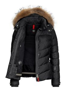 Down Ski Jacket Sally-D - Black - order at Bogner