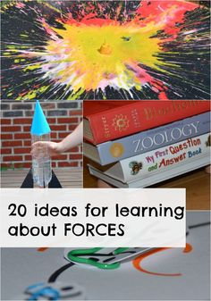 20 AWESOME ideas for learning about FORCES. Great for Key Stage 1 and Keys Stage 2 Science