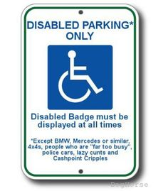 1000 Images About Funny Handicap Signs On Pinterest