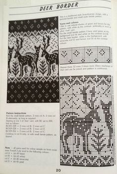 Fair Isle Knitting Patterns, Knitting Machine Patterns, Fair Isle Pattern, Knitting Charts, Knitting Stitches, Knitting Designs, Knitting Socks, Filet Crochet Charts, Cross Stitch Charts