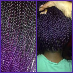 Installing purple ombre crochet twists! Get the look of senegalese twists in 2 hours! Book an appointment with Kryssy @ Mckinzie Chic Hair Studio 508 S 5th St Philadelphia, Pa. 19147 www.styleseat.com/kryssyhair