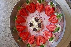 Erdbeer - Quark - Torte mit Joghurette (Rezept mit Bild) | Chefkoch.de