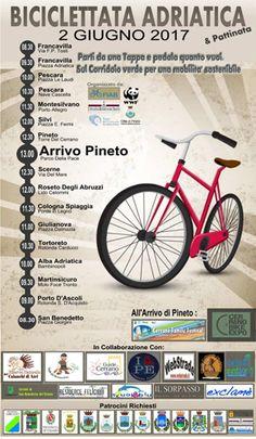 Abruzzo Biciclettata Adriatica: il 2 giugno la festa della mobilità sostenibile
