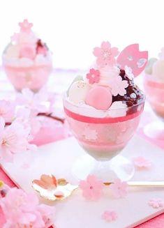 Cute Snacks, Cute Desserts, Delicious Desserts, Yummy Food, Japanese Snacks, Japanese Sweets, Japanese Food, Japanese Wagashi, Bebidas Do Starbucks