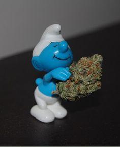 Smurf weed.