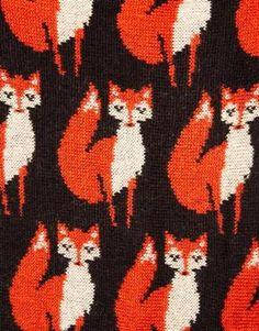 Immagine 2 di ASOS - Sciarpa ad anello con volpe lavorata a maglia
