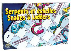 Snakes and Ladders - the board game for all Online Shopping Canada, Win Or Lose, Serpent, Family Day, Board Games, Ladders, Snakes, Attention, 4 Years