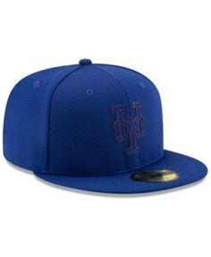low priced 16c9f fdc6b New Era Boys  New York Mets Clubhouse 59FIFTY-fitted Cap - Blue 6 1 2