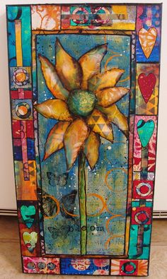 My Art Journal: What to do With All of These Painted Papers