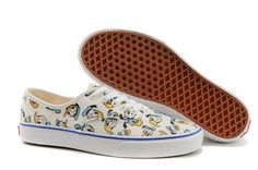 Mujer Vans Classic Slip Lienzo Ponerse Plimsoll Entrenadores Zapatos - Verdadero Blanco - 39 6OMX2g