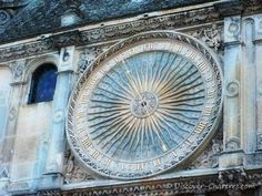 Astronomical clock, Chartres cathedral, France