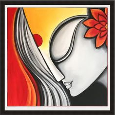 Modern Indian Painting Indian Art Indian Decor Abstract Etsy Modern Indian Painting Wikipedia Images For Gt Modern Indian Paintings Of Women Indian Modern Indian Art Paintings For Sale Saatchi Art…Read more of Modern Indian Painting African Art Paintings, Modern Art Paintings, Oil Paintings, Painting Art, Painting Lessons, Painting Abstract, Watercolor Painting, Landscape Paintings, Couple Painting