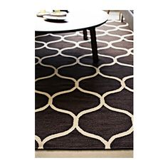 Karby rug low pile ikea the anti slip backing keeps the rug firmly in place on the floor and - Alfombra stockholm ikea ...