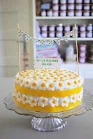 Die Landfrau: Lemon Curd Torte