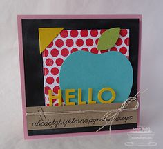 Large Scale Backgrounds; Journal It - Head of the Class;  Blueprints 7 Die-namics; Red Delicious Die-namics - Amy Rohl