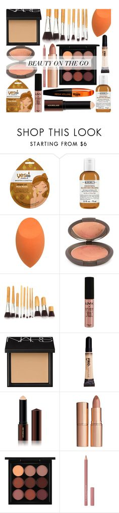 """fall beauty on the go"" by claireelizabetth ❤ liked on Polyvore featuring beauty, Kiehl's, Becca, NYX, NARS Cosmetics, L.A. Girl, Hourglass Cosmetics, Charlotte Tilbury, MAC Cosmetics and Inglot"