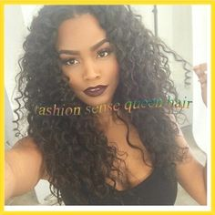 Find More Wigs Information about Deep wave brazilian virgin hair wig unprocessed 100% human hair silk top glueless lace front wig with baby hair for black women,High Quality Wigs from Fashion sense Human hair store on Aliexpress.com