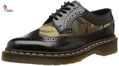 Dr. Martens 3989 Brogue Canvas, Richelieu mixte adulte, Multicolore (Camo Black), 37 EU - Chaussures dr martens (*Partner-Link)
