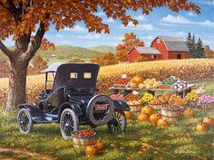 ~Autumn~ by John Sloane Art