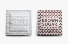 These amazing sugar sachets are designed by Grisha Sorokin! Want soo badly!