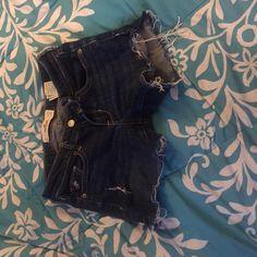 Hollister Shorts Dark Jean Hollister Shorts Hollister Shorts Jean Shorts