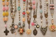 Cool collage jewelry