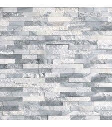 Alaska Gray Multi Finish Stacked Stone Panels feature white and gray tones found in classic natural marble. The varying finishes add character and they are perfect for a wide range of interior and exterior design projects. Grey Wall Tiles, Grey Walls, Accent Walls, Stacked Stone Panels, Stone Veneer, Floor Decor, Tile Design, Porcelain Tile, Jaipur