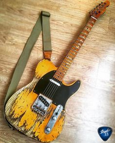#Teletuesday Here's a cool relic #Telecaster from @theeastbourneguitarworkshop #Studio33Guitar