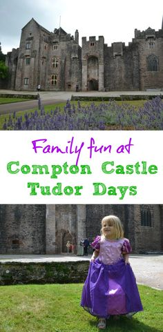 Compton Castle near Torquay in Devon is a 14th Century manor house with a fascinating history of fortification, ruin and renovation. Over the summer holidays it is holding Tudor Days to bring its history alive.