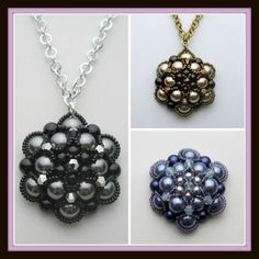 Kelly from Off the Beaded Path, in Forest City, North Carolina shows you how make a beautiful pendant. We have materials used to make this, along with kits a...