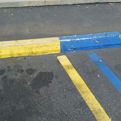 """""""Bruins-Only"""" parking space"""