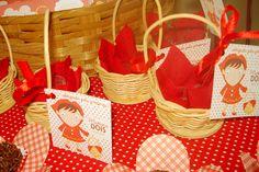 Anne Pires | Festa Chapéuzinho Vermelho