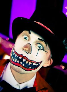 Makeup Elvis Smoulianoff  Circus  Beatherder Festival 2012