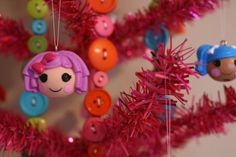 #Lalaloopsy #Christmas #tree for a little girl.