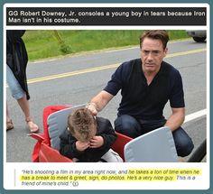 Robert Downey Jr. deals with it…