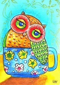 Cup of owl