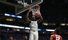 "Kentucky's Bam Adebayo declares for 2017 NBA Draft, won't hire agent = According to an official statement released by the school on Wednesday morning, the Kentucky Wildcats could be losing freshman forward Bam Adebayo to the 2017 NBA Draft. Attempting to become one of the many ""one-and-dones"" under Kentucky head coach John Calipari, the up-and-coming forward will not hire an agent while technically leaving the door open for a return to the Wildcats. ""This process we….."