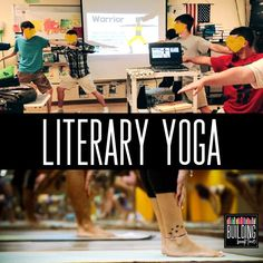 10 Ways to Add Movement in the ELA Classroom - Building Book Love Yoga in the Classroom Ela Classroom, High School Classroom, Classroom Ideas, Classroom Design, Classroom Inspiration, Future Classroom, Middle School Reading, Middle School English, Teaching Language Arts