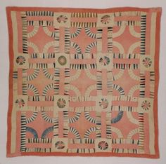 The Quilt Index: Simmons, Sarah Ann Carpenter Old Quilts, Amish Quilts, Antique Quilts, Scrappy Quilts, Vintage Quilts, Gees Bend Quilts, Sarah Ann, Wedding Ring Quilt, Textiles