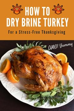 Tired of worrying about your Thanksgiving turkey? Start dry brining it and you'll serve a juicy perfectly cooked bird every year. Thanksgiving Leftover Recipes, Thanksgiving Turkey, Holiday Recipes, Holiday Meals, Dry Brine Turkey, Roasted Turkey, Stuffing Recipes, Turkey Recipes, Duck Recipes