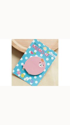 Kawaii sticky memo of fish in pastel pink. This sticky note will be great for decorative use and craft projects. A must have for Scrapbooking, Collage,