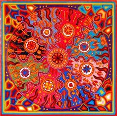 forma es vacío, vacío es forma: Arte Huichol - nearikas