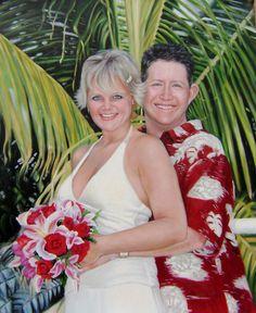 WeddingPortraits | WeddingPaintings | Bridal…