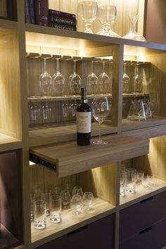 55 Magnificent Basement Bar Ideas for Home Escaping and Havi .- 55 Magnificent Basement Bar Ideas for Home Escaping and Having Fun Kitchen (Space 29 Casa FOA / Estudio Gabi Lopez More - Bar Sala, Bar Unit, Home Bar Designs, Wine Cabinets, Bar Areas, Kitchen Collection, Bar Furniture, Bars For Home, Mini Bar At Home